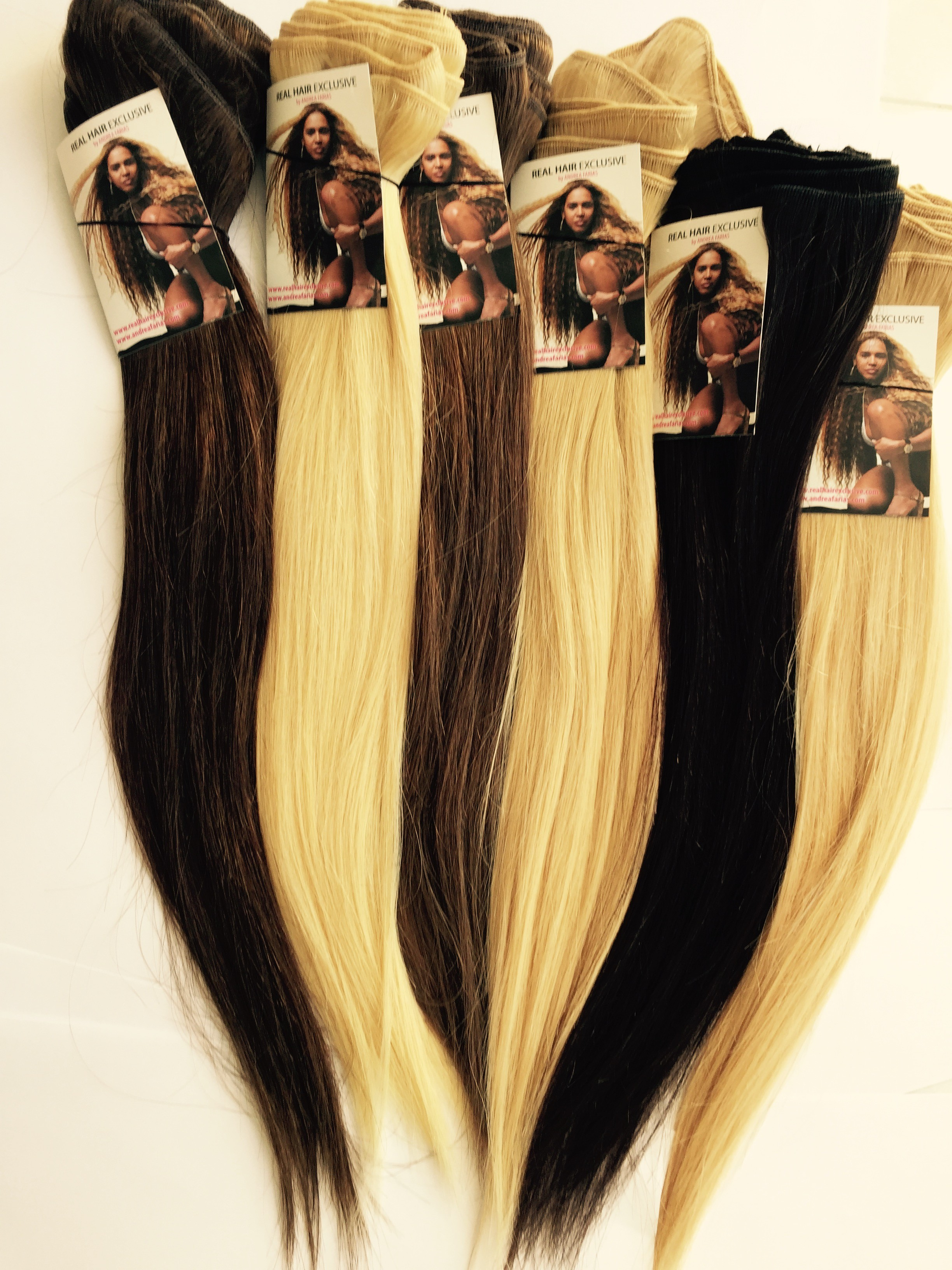 HANDTIED WEAVE - COLORED - STRAIGHT