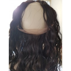 Frontal lace wavy