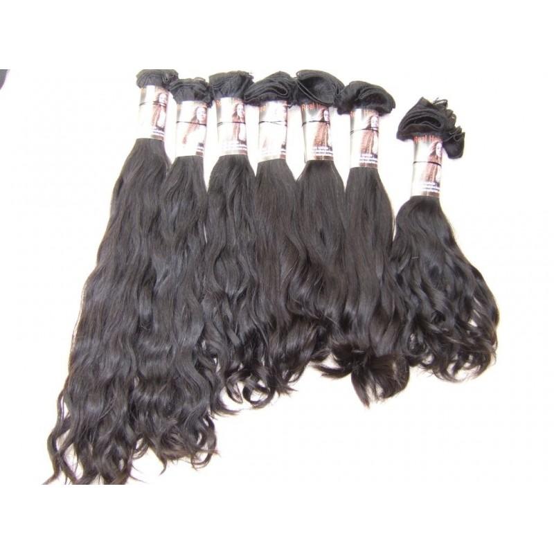 Andrea Farias Special Hair natuurlijk gekleurde handgemaakte weave