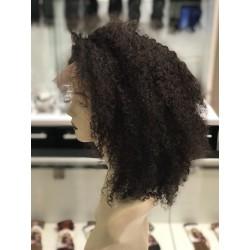 Kinky Lace Wig Glueless 360