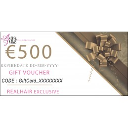 REAL HAIR EXCLUSIVE Gift Card 500