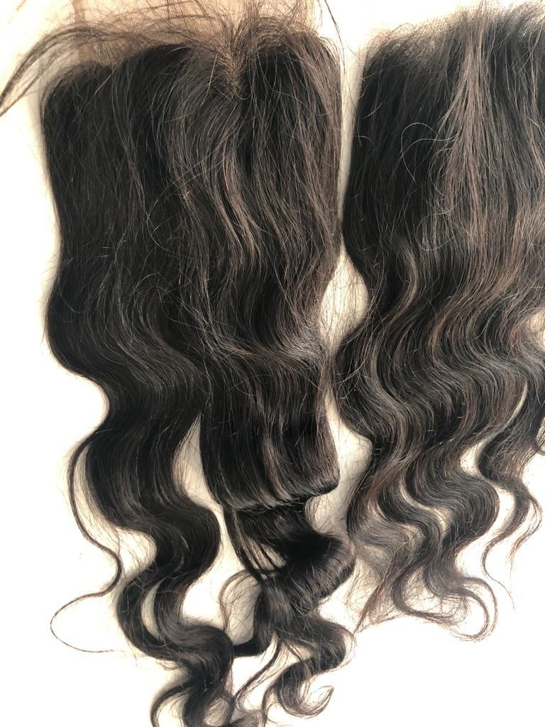 HAIRPIECES - CLOSERES - WAVY LACE