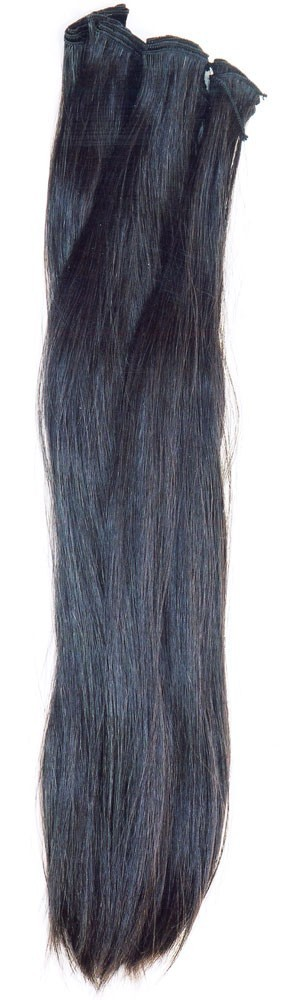 Double drawn very straight natural color hand tied weave