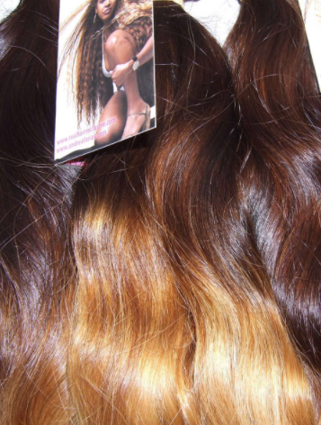 HANDTIED WEAVE - DOUBLE COLOR - STRAIGHT